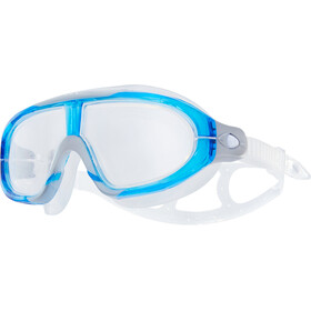 TYR Orion Maschera Da Nuoto, clear/blue/grey